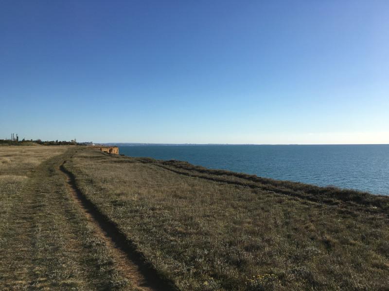 Вид на Гераклейский полуостров южнее