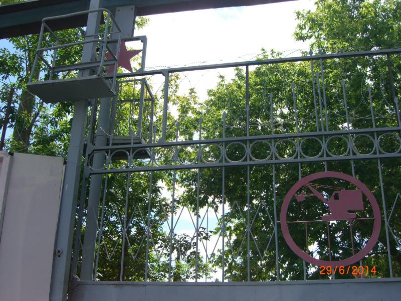 Ворота на Магистральном переулке