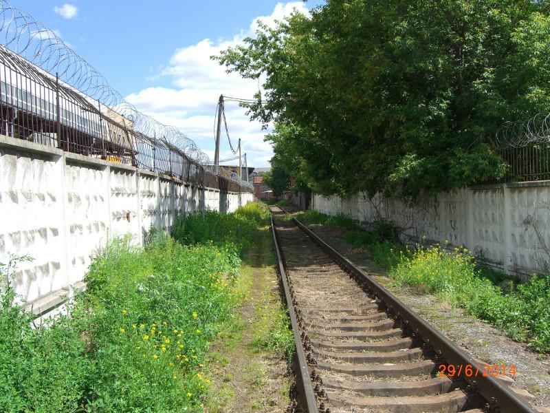 Путь к Белорусскому направлению Московской железной дороги