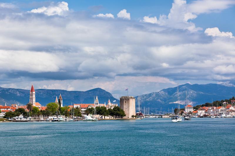 dvoevnore.com: Вид города Трогир, Хорватия. Trogir, Croatia view