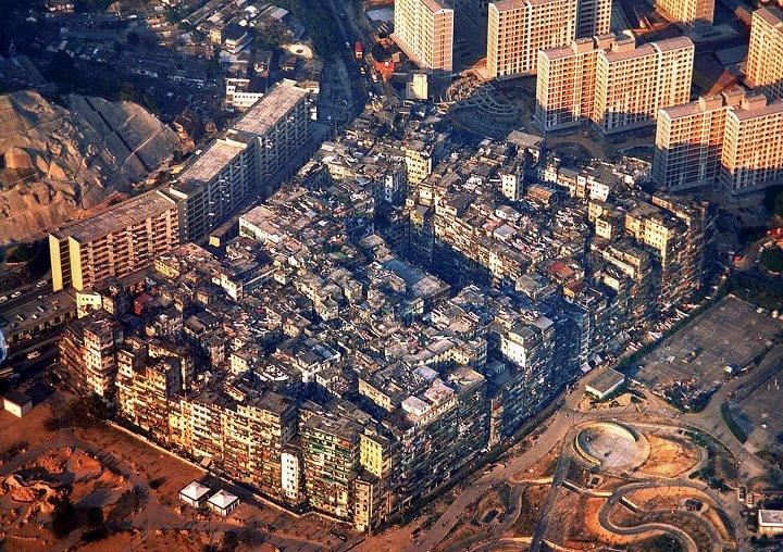 город-крепость Коулун Kowloon Walled City1
