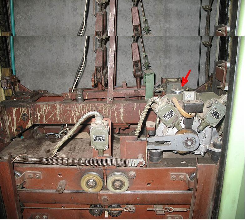 Двери кабины лифта