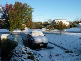 Snowstorm 10/30/11