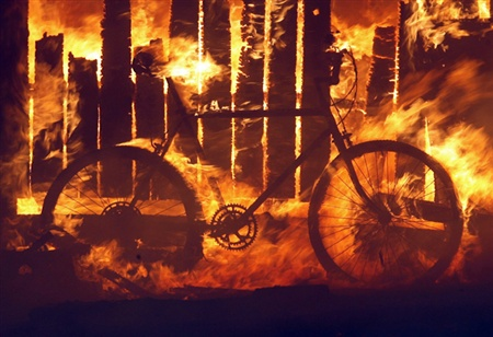 Burning Bike