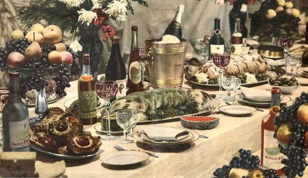 праздничный стол2