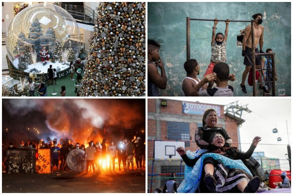 Декабрьские снимки из стран Латинской Америки