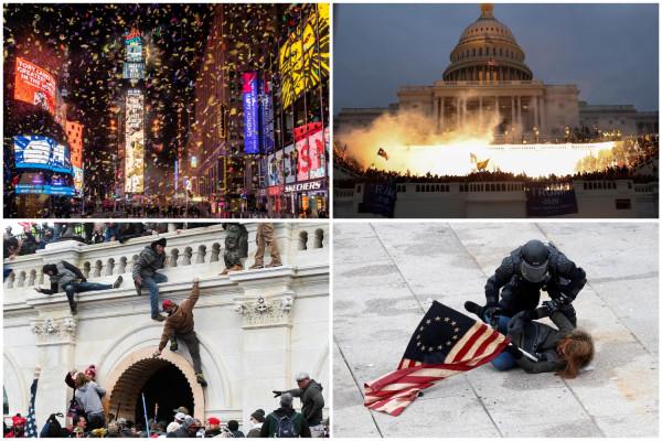 Январские фотографии из США