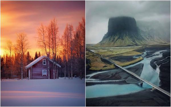 Суровая красота Финляндии и Исландии на фотографиях Эсси Траутвейн