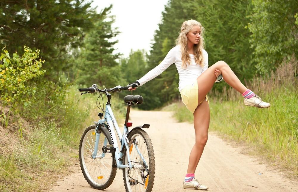 горячие велосипедистки