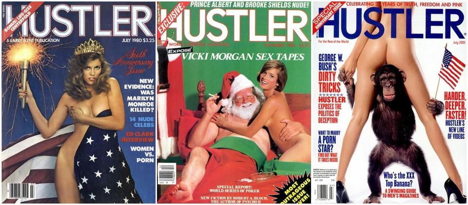 Самые горячие обложки журнала Hustler от 70-х до наших дней