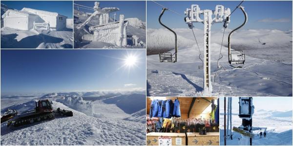 Идеальный снег, но пустые склоны: закрытый горнолыжный курорт в Шотландии