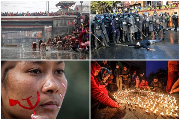 Интересные кадры из Непала