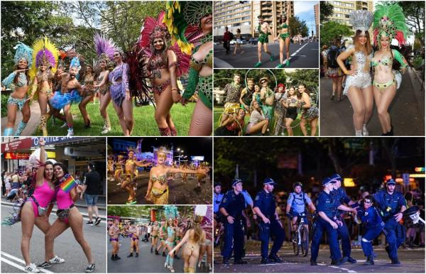 Марди Гра 2021: тысячи геев и лесбиянок на улицах Сиднея