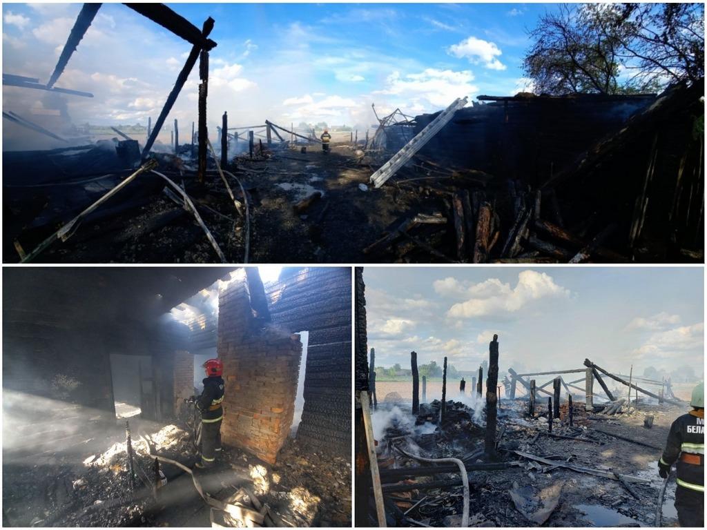 Пока мать развешивала белье, загорелся дом. В пожаре погиб шестилетний ребенок