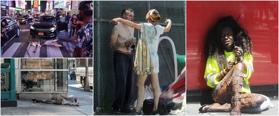 Бездомные оккупировали постпандемический Нью-Йорк
