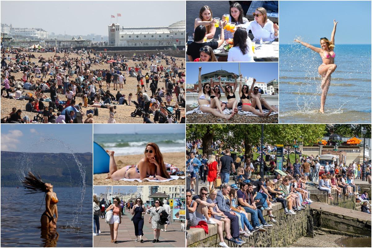 В Великобритании понедельник стал самым жарким днем в году: температура достигла +25°C