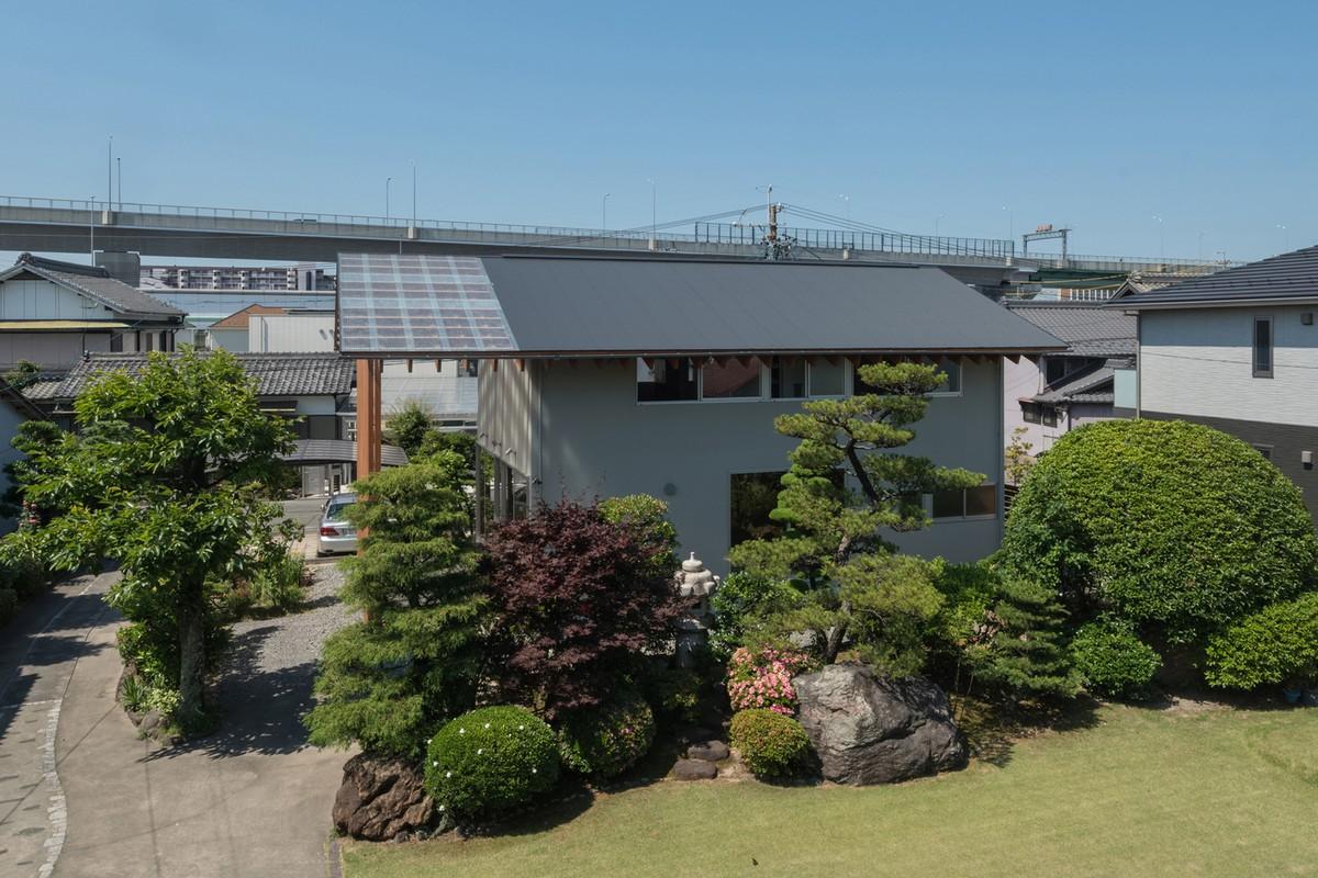 Уютный семейный дом в Японии