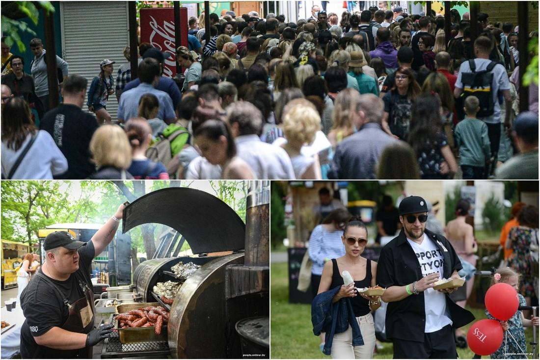 Еда, очереди, движ: летний городской пикник Vulitsa Ezha