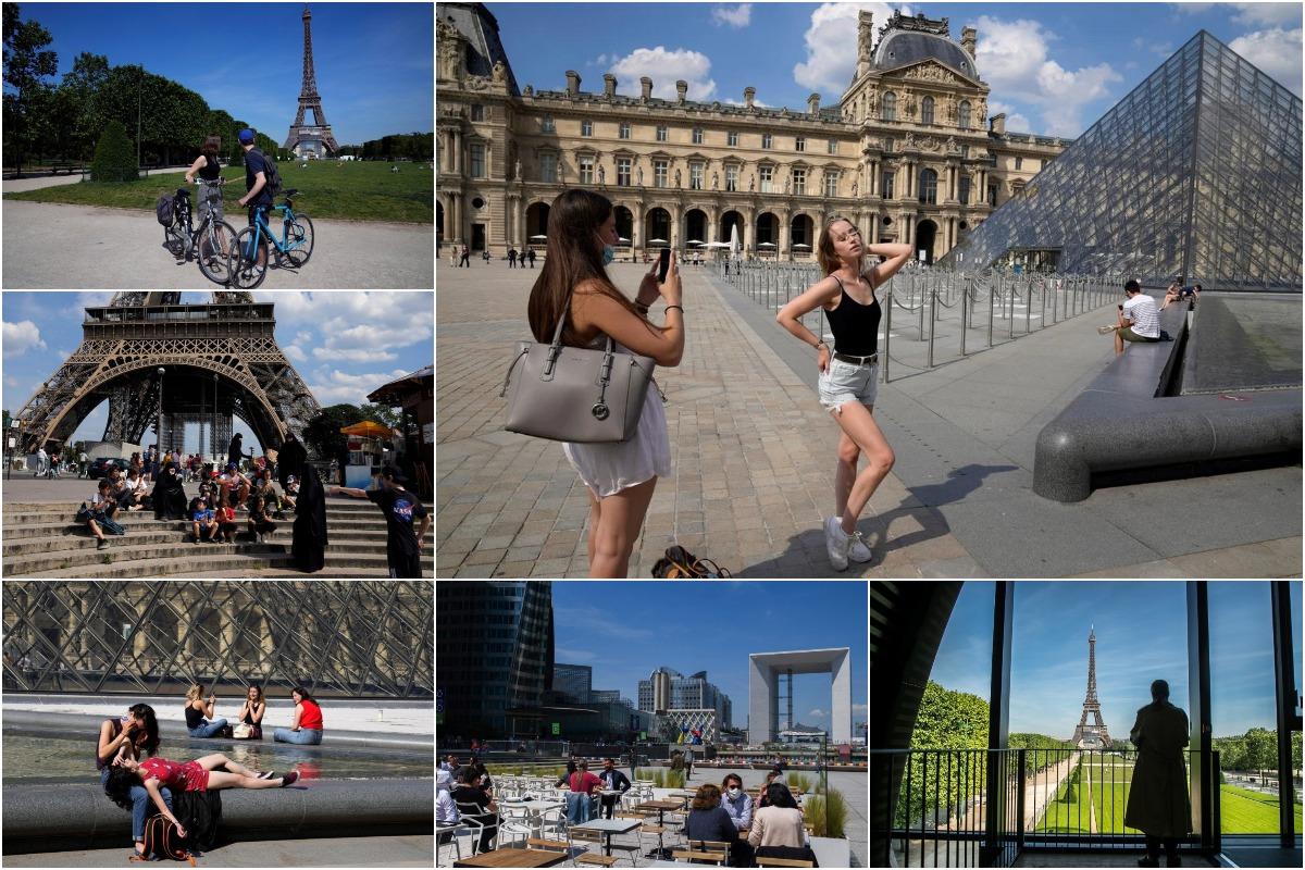 Франция открывает свои границы для привитых туристов из некоторых стран