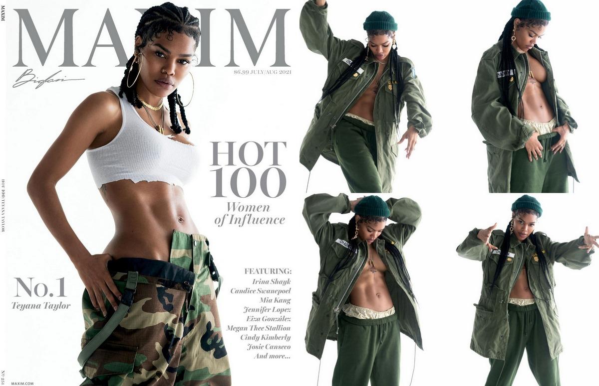 Тейяна Тейлор в журнале Maxim