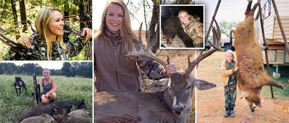 Любительнице охоты угрожают смертью в интернете
