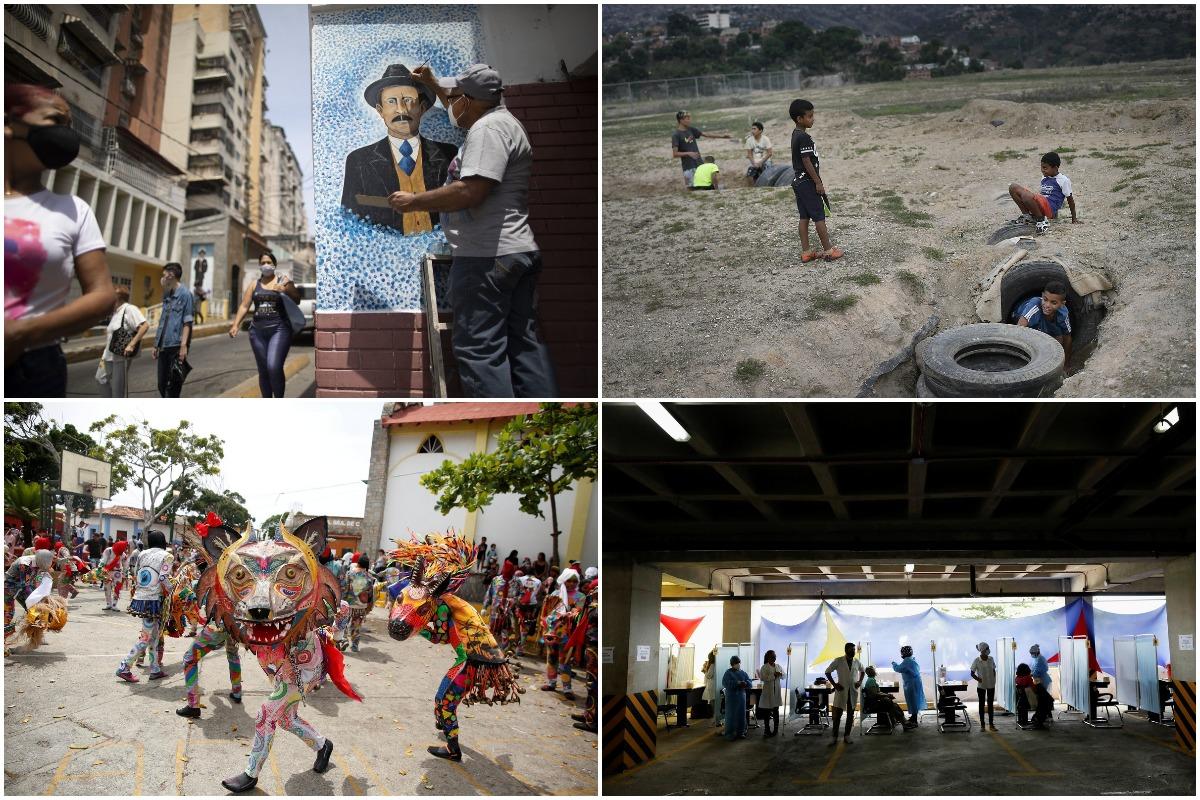 Интересные снимки из Венесуэлы