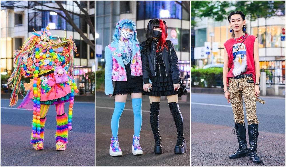 Модные персонажи на улицах Токио (15.06.21)