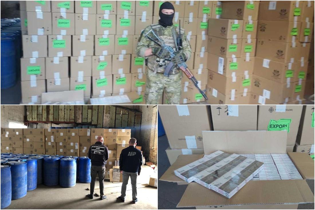 Масштабная схема: Украина задержала крупную партию белорусских сигарет