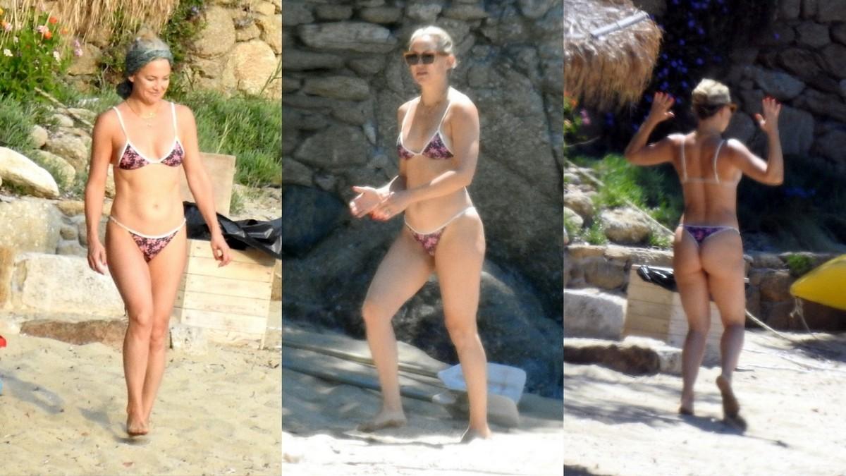 Кейт Хадсон в бикини