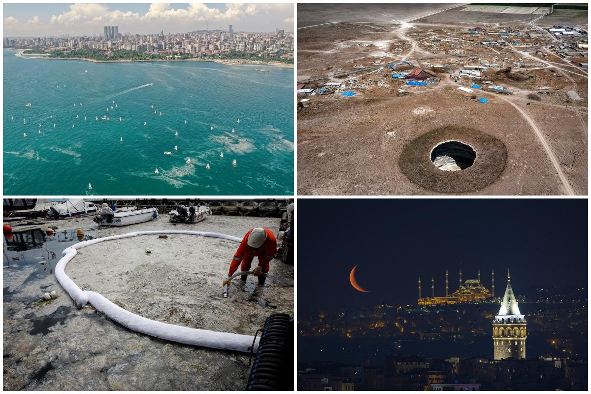 Интересные кадры из Турции