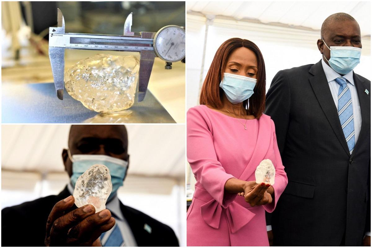 В Ботсване обнаружен третий по величине алмаз в мире стоимостью $55 млн