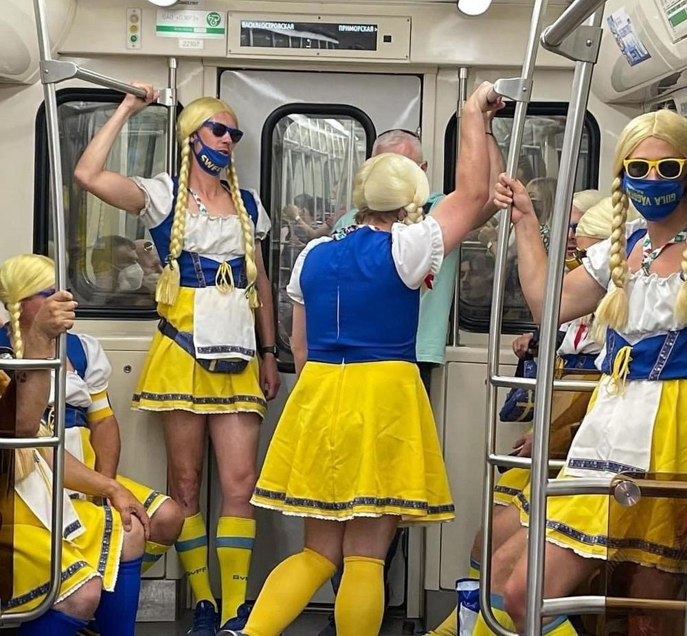 Модники из российского метрополитена 21.06.21