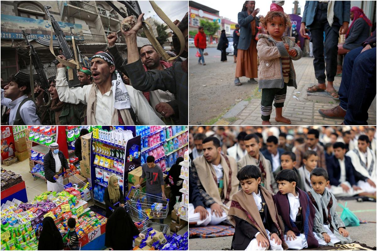 Интересные снимки из Йемена