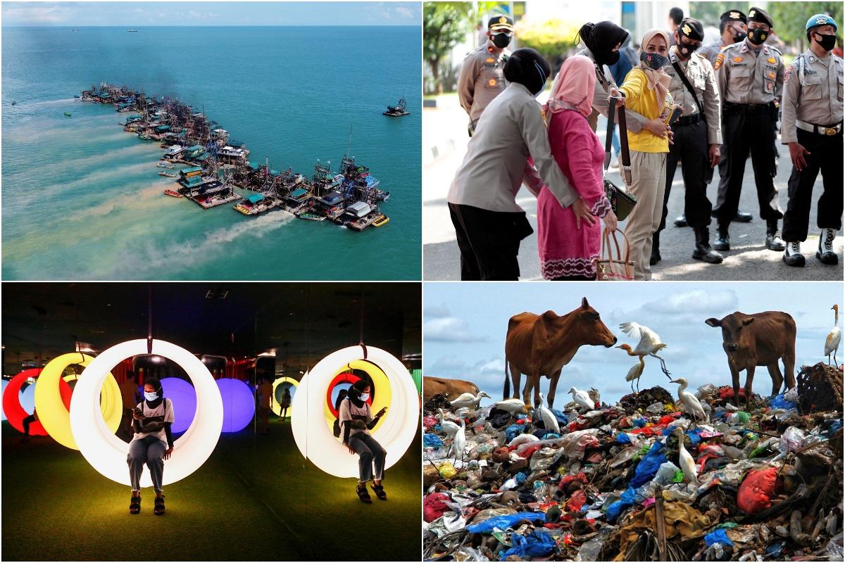Июньские снимки из Индонезии