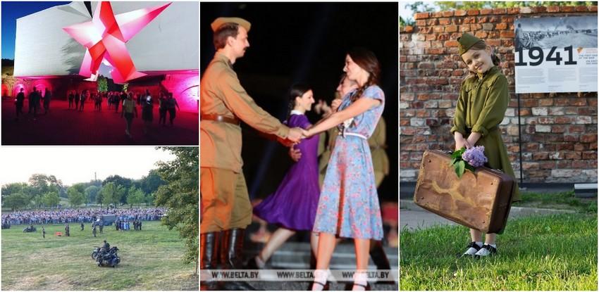 80 лет назад началась Великая Отечественная война: в Беларуси проходят памятные мероприятия
