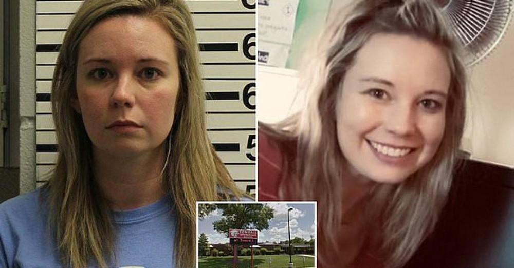 Учительница попала в тюрьму за секс с учеником и обвинила его в домогательствах