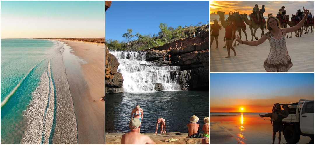 Австралийцы едут в Брум, чтобы насладиться нетронутыми белыми пляжами, сверкающей водой и закатами