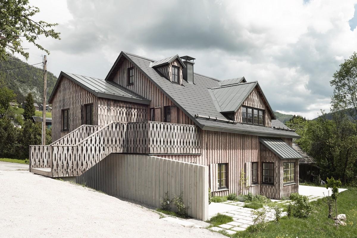 Обновление и расширение старого дома в Австрии