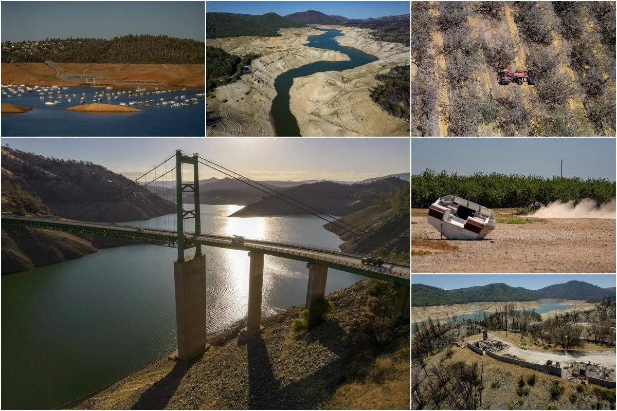 Экстремальная засуха в штате Калифорния