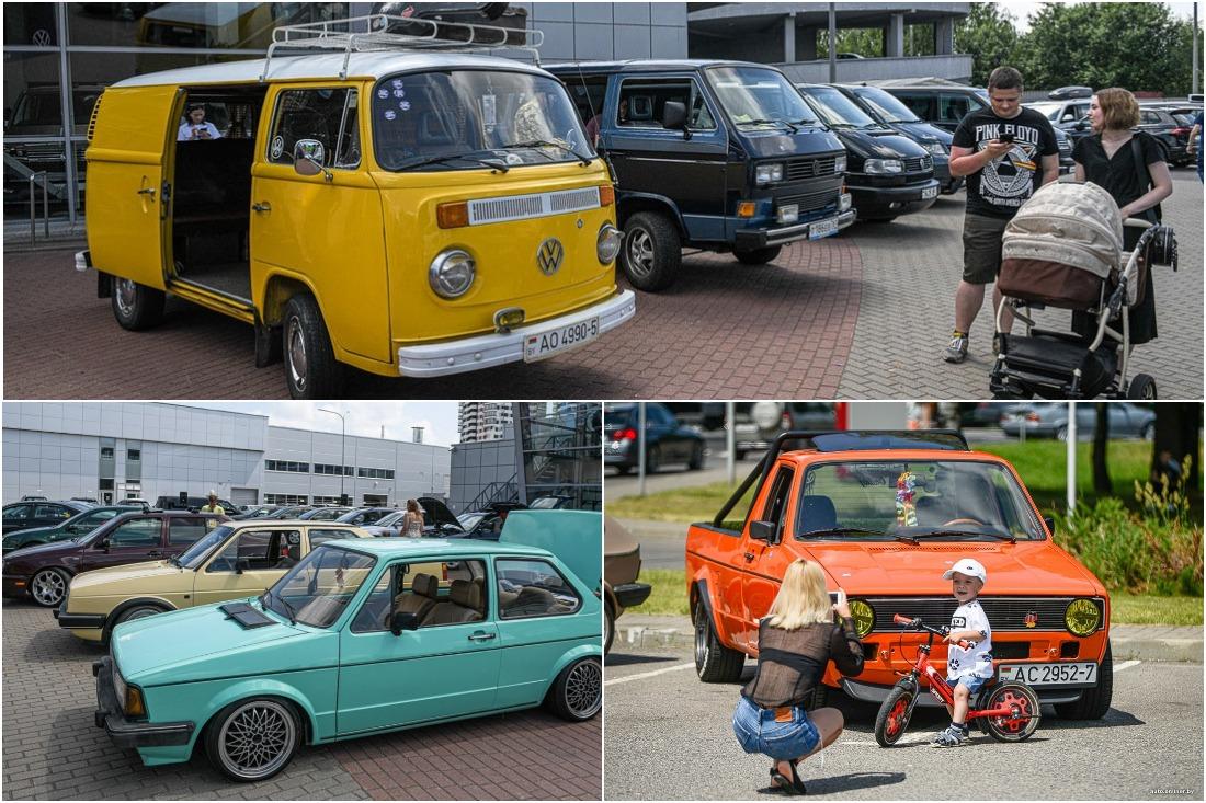Volkswagen приглашает друзей: дилер собрал все поколения легендарных моделей