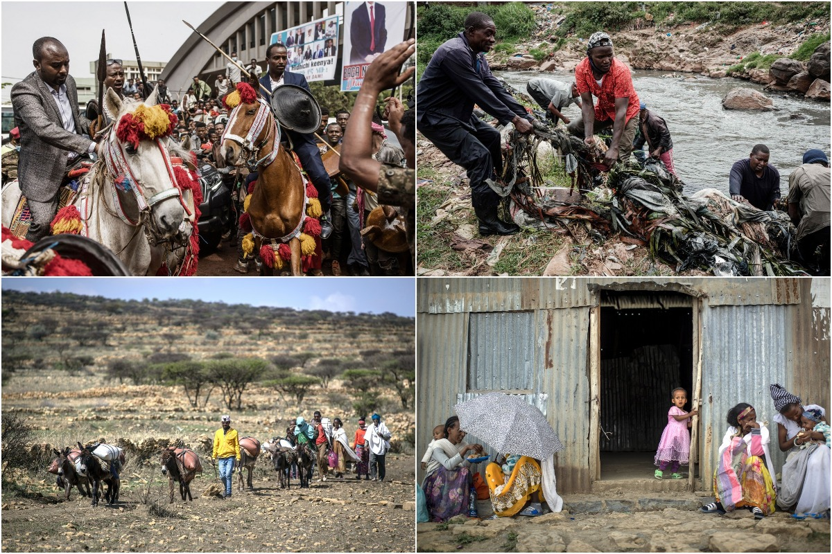 Интересные снимки из Африки