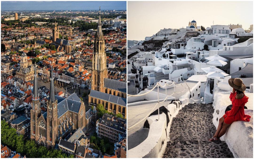 Улицы европейских городов на снимках Пьера Брауэра
