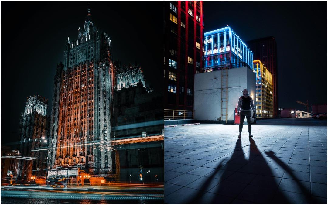 Москва на снимках Михаила Деревянова