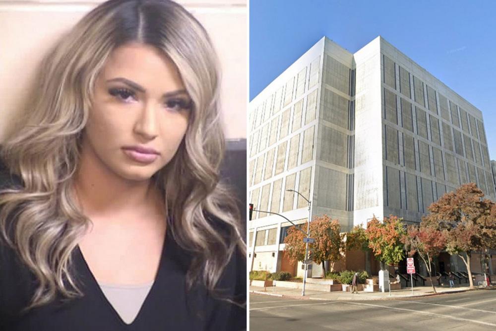 Надзирательница попала в тюрьму после того как занялась сексом с заключенным на глазах окружающих