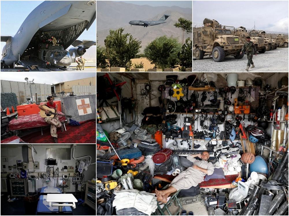 Афганские мародеры разграбили авиабазу Баграм после того, как американские войска ушли