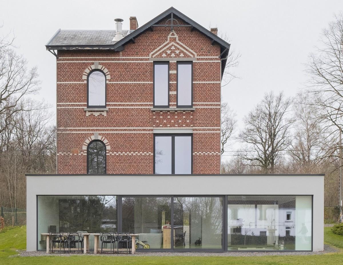 Расширение старой виллы в Бельгии