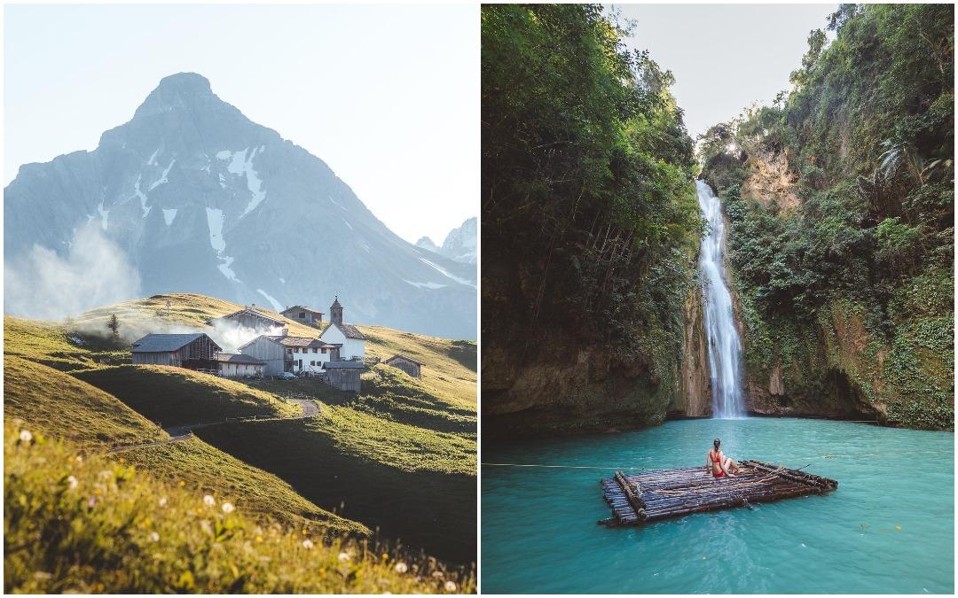 Замечательные фотографии из путешествий Романа Хубера