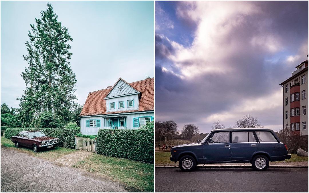 Автомобили на улицах немецких городов на снимках Грегора Клара