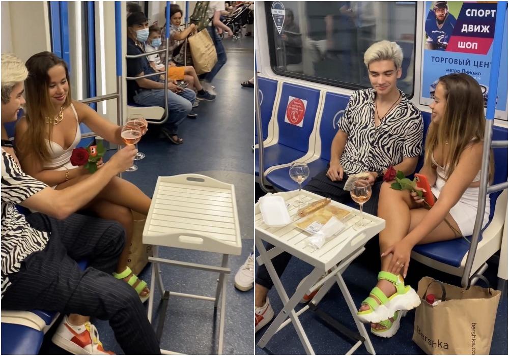 Модники из российского метрополитена 12.07.21