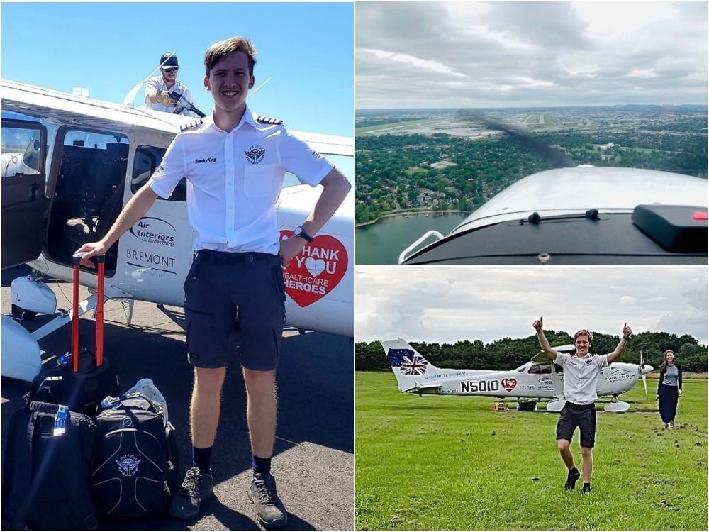 Вокруг света за 44 дня: 18-летний подросток совершил кругосветное путешествие на самолете